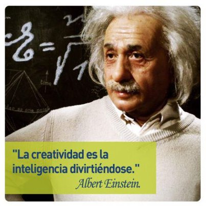 Albert Einstein y la creatividad.
